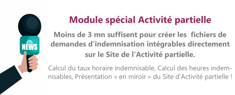 Module Gestion Activité partielle RHSUITE.COM